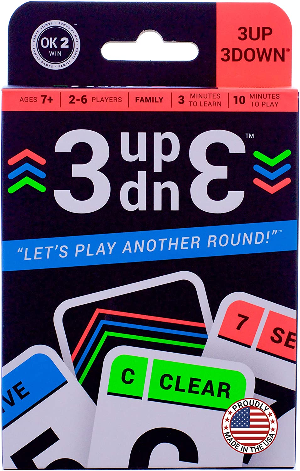 3Up 3Down - Card Game