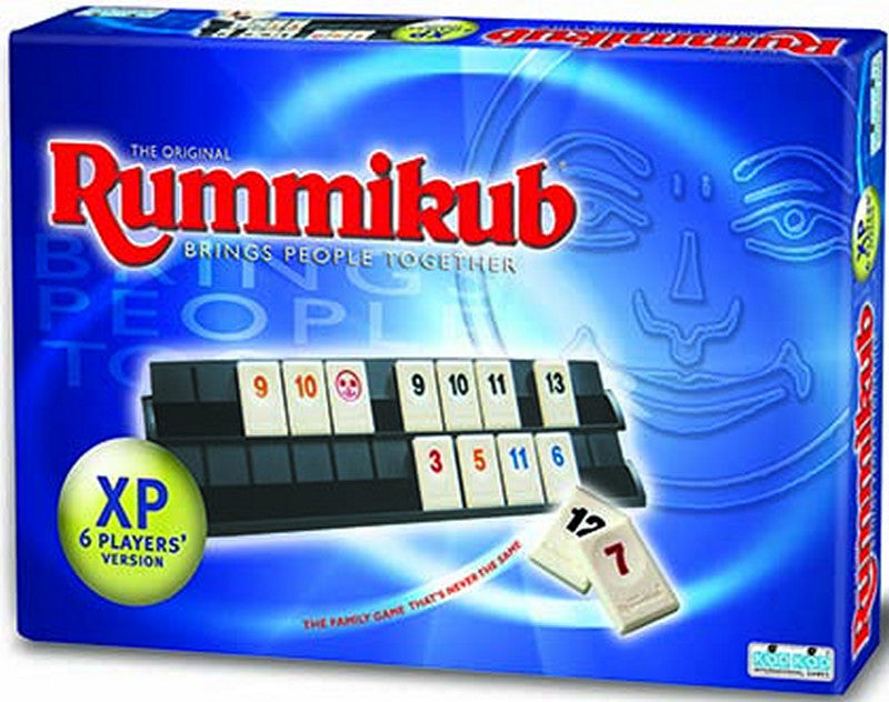 Rummikub XP 6 Player Version - Brings People Together