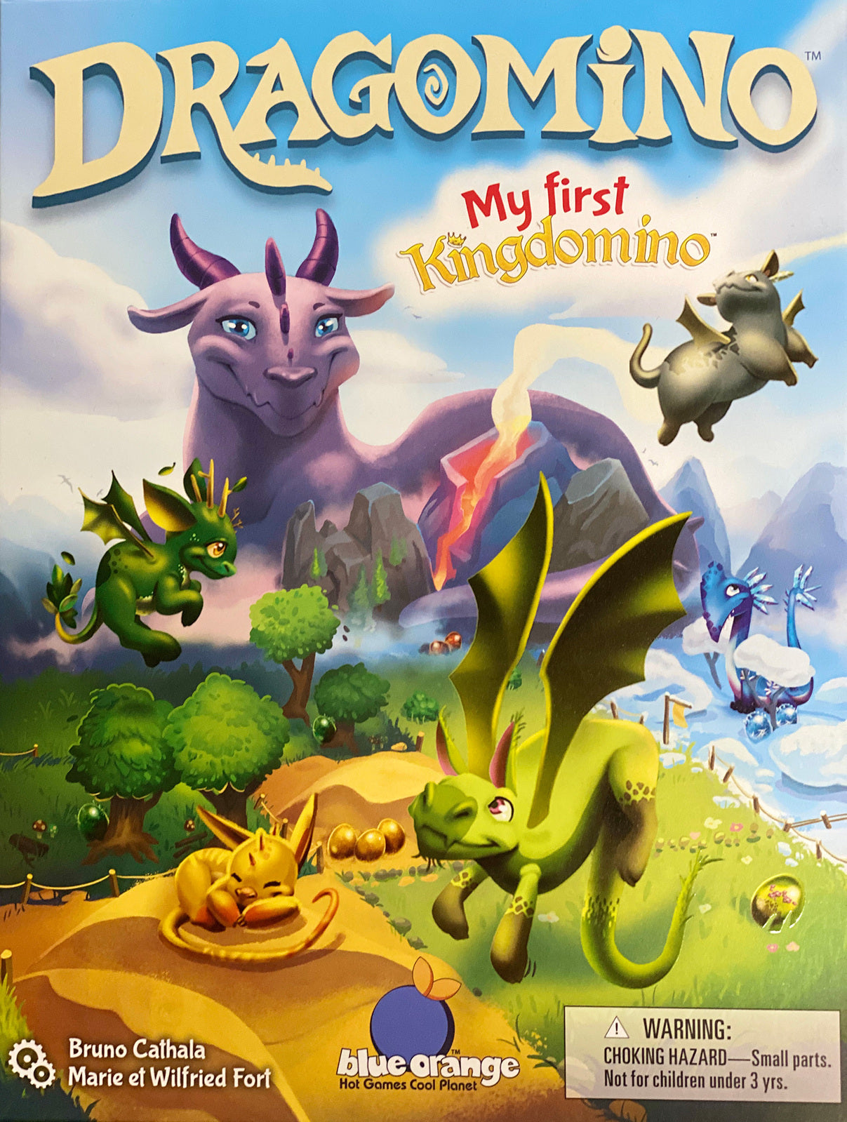 Dragonimo - Race to Find the Precious Dragon Eggs