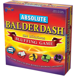 Absolute Balderdash - A Fun & Easy Bluffing Party Game