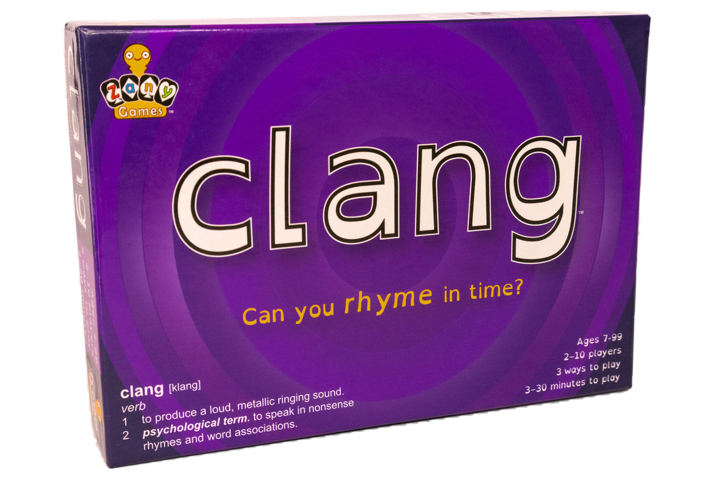 Clang Card Game - Can you Rhyme in Time?