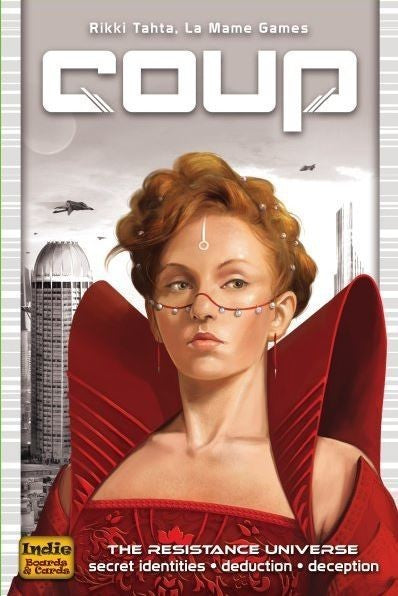Coup Card Game - Deduction & Deception