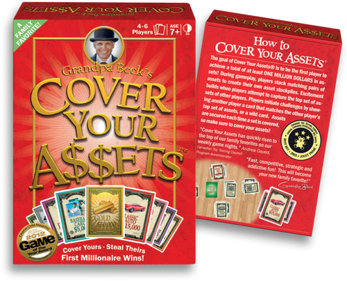 Cover Your Assets - Card Game