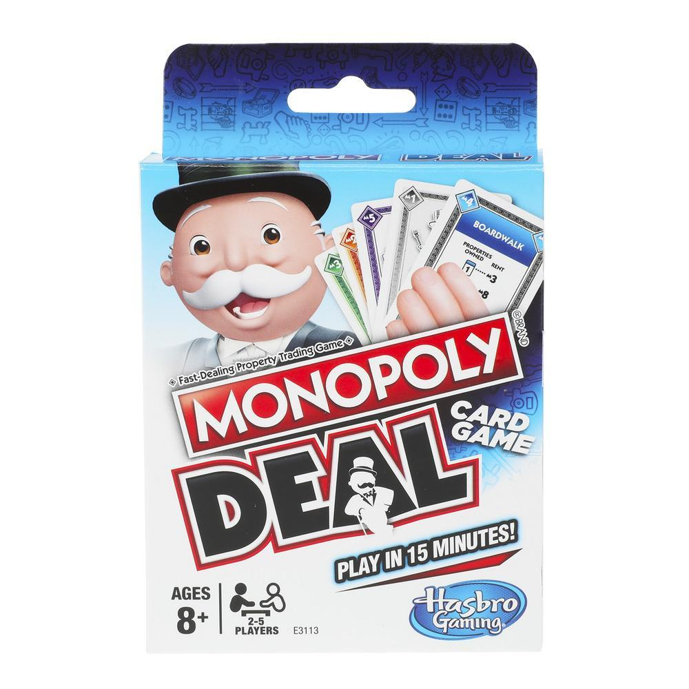 Monopoly Deal Card Game - Play in 15 Minutes
