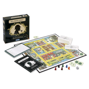 Image of the 221B Baker Street Box, Board and playing pieces