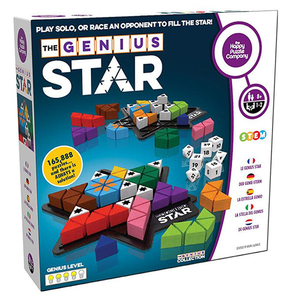 Genius Star - Play Solo or Race Someone to fill the Star