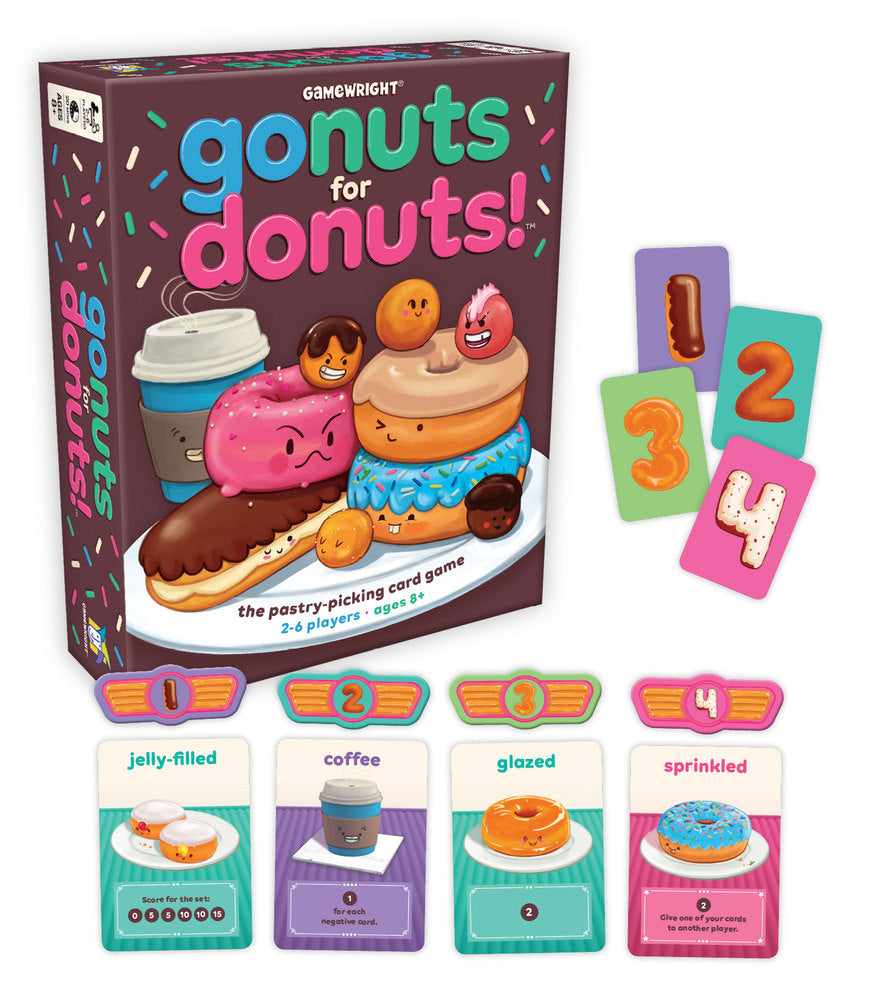 Gonuts for Donuts! - Card Game