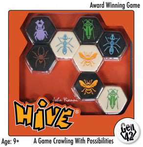 Hive - A Strategy Game Crawling with Possibilities