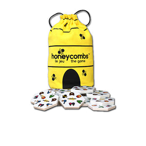 Honeycombs Game - 3 Ways to Play - More Matches = More Points