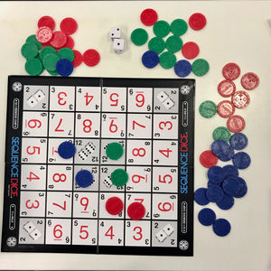 Sequence Dice - It's Sequence with Dice