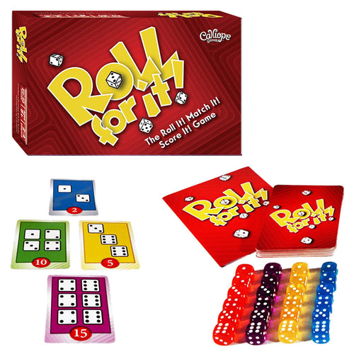Roll For It Dice Game - Red Box