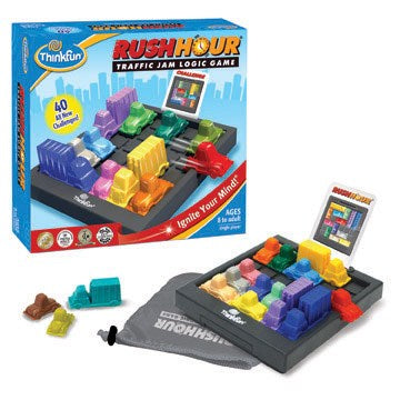 Rush Hour Traffic Jam Puzzle