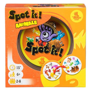 Spot It Animals - Card Game
