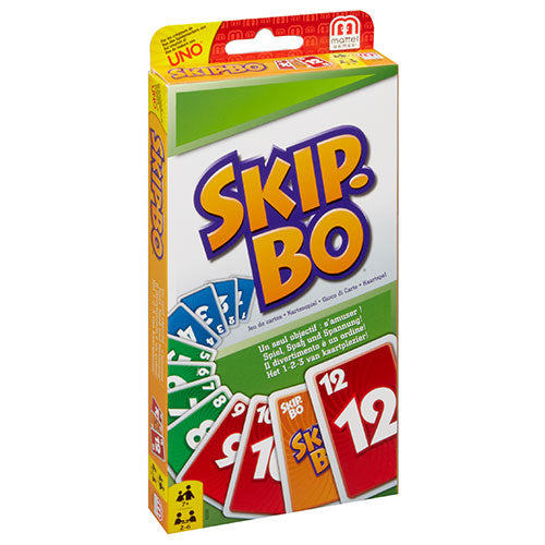 Skip Bo - Card Game