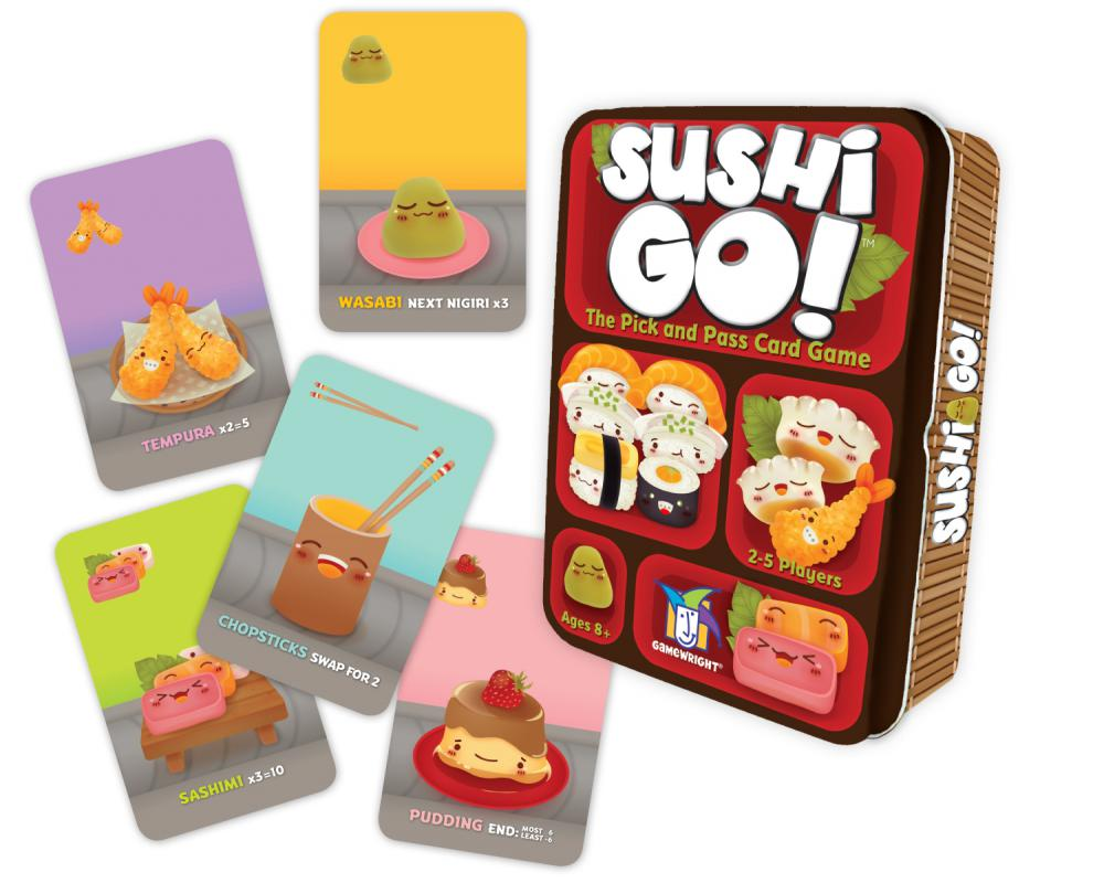 Sushi Go - The Pick & Pass Card Game
