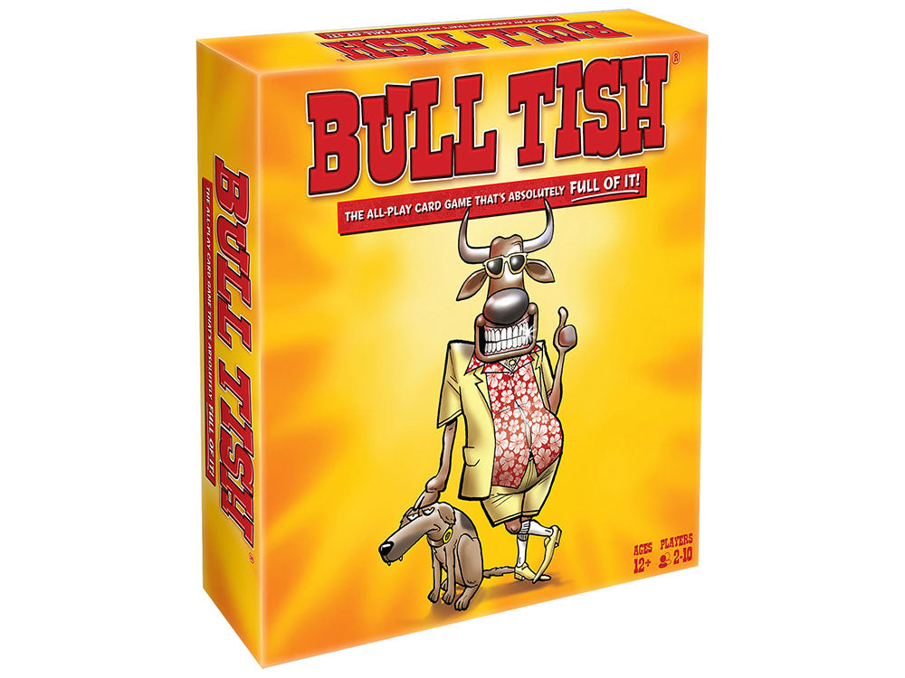 Bull Tish Card Game - It's Absolutely Full Of It