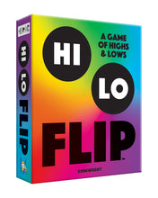 Load image into Gallery viewer, Hi Lo Flip - A Card Game of Highs & Lows