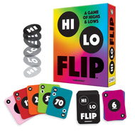 Hi Lo Flip - A Card Game of Highs & Lows