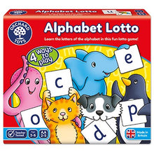 Load image into Gallery viewer, Alphabet Lotto - Fun Letter Learning Game