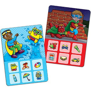 Superhero Lotto - Matching & Memory Game