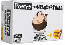 Load image into Gallery viewer, Poetry for Neanderthals - Word Game Where you must Speak Good