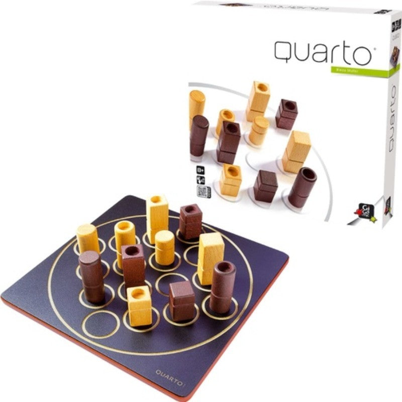 Quarto - Naughts & Crosses with a Twist