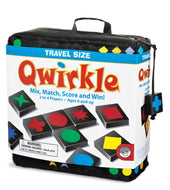 Qwirkle Travel - A Clever Game of Matching Colours or Shapes
