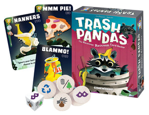 Trash Pandas - The Raucous Raccoon Card Game