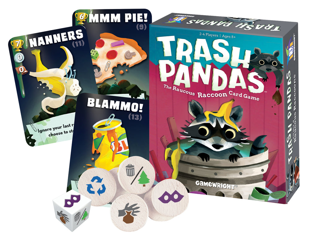 Trash Pandas - Card Game