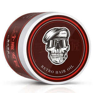 Retro Hair Oil Pomade Strong Style Restoring Pomade Hair wax