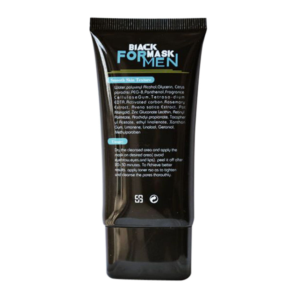 Deep Cleansing Peel Off Black Carbon Facial Mask For Blackheads