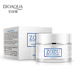 BIOAQUA Men Natural Snowy Colorful Nude Makeup Facial Cream Moisturizer