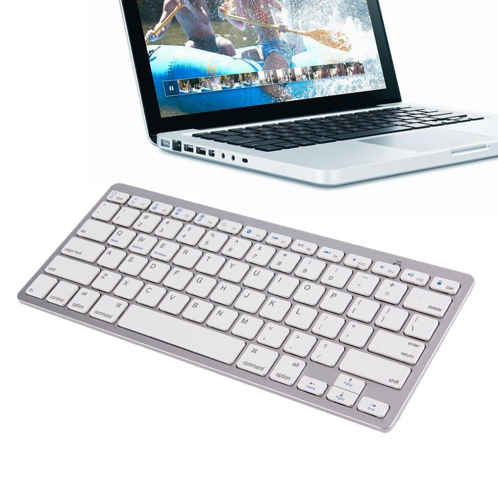 2017 Newest Ultra-slim Wireless Keyboard Bluetooth 3.0 Keyboard For Android for MAC for iPad for Windows for OS System
