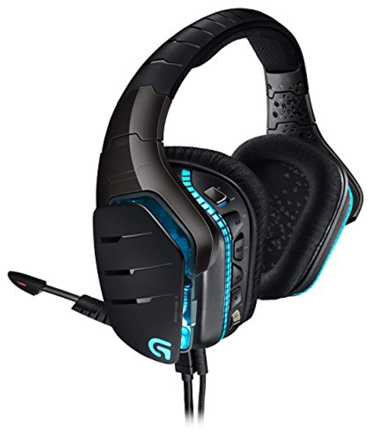Logitech G633 Artemis Spectrum – RGB 7.1 Dolby and DST Headphone Surround Sound Gaming Headset – PC, PS4, Xbox One, Switch, and Mobile Compatible – Exceptional Audio Performance – Black