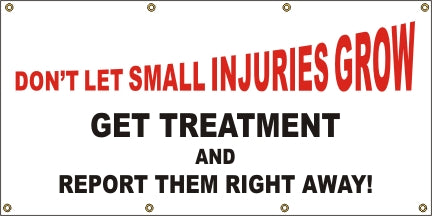 Don't Let Small Injuries Grow - SBS013
