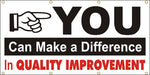 You Can Make The Difference - In Quality Improvement - SBS174