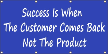 Success Is When the Customer Comes Back - SBS200