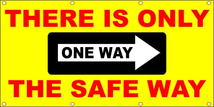 There Is Only One Way, the Safe Way - SBS202