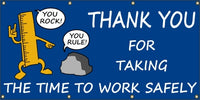 You Rock, You Rule - Thank You For Working Safely - SBS203