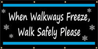 When Walkways Freeze, Walk Safely Please - SBS212