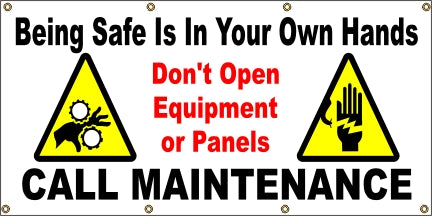 Being Safe is In Your Own Hands - Call Maintenance - SBS217