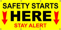 Safety Starts Here, Stay Alert - SBS218