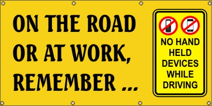 On The Road Or At Work, Remember… - SBS243