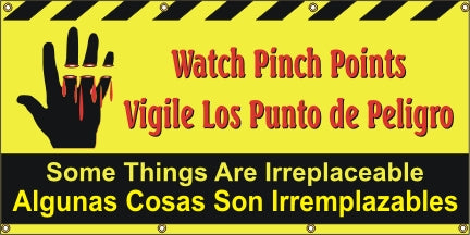 Watch Pinch Points - English / Spanish - SBS255