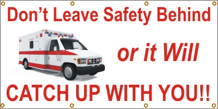 Don't Leave Safety Behind - Ambulance - SBS268