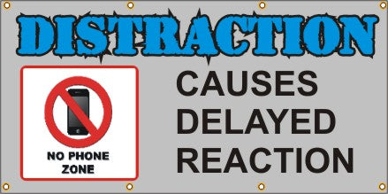 DISTRACTION Causes Delayed Reaction -SBS269