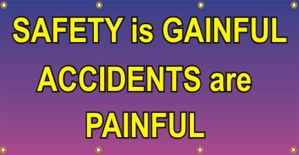 Safety Is Gainful, Accidents Are Painful - SBS274