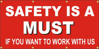 Safety Is a MUST, If You Want to Work With Us -SBS280