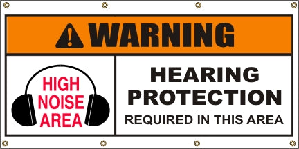 Caution – Hearing Protection Required - SBS417