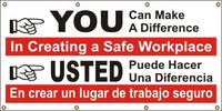 You Can Make The Difference In Creating A Safe Workplace (English and Spanish) - SBS547